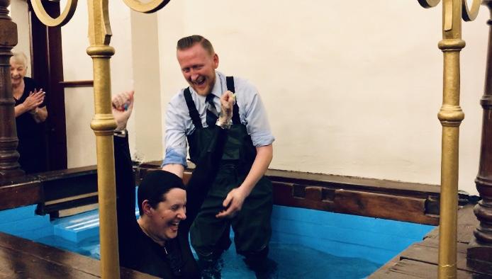 Amanda's Baptism