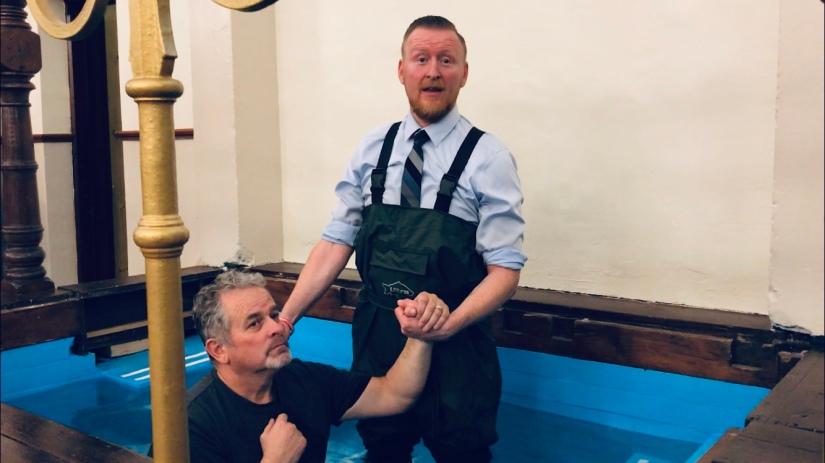 Kevan's Baptism