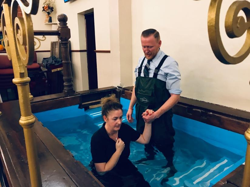Sue-Ellen's Baptism
